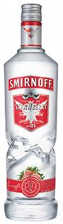 Smirnoff Vodka Strawberry 750ml
